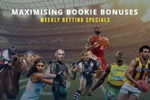 Weekly betting specials