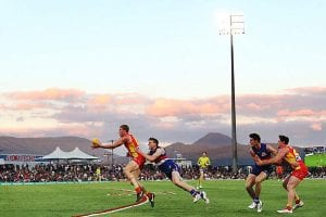 Gold Coast Suns AFL at Cairns