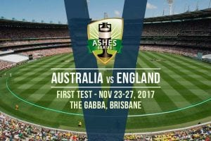 2017/18 Ashes 1st Test odds