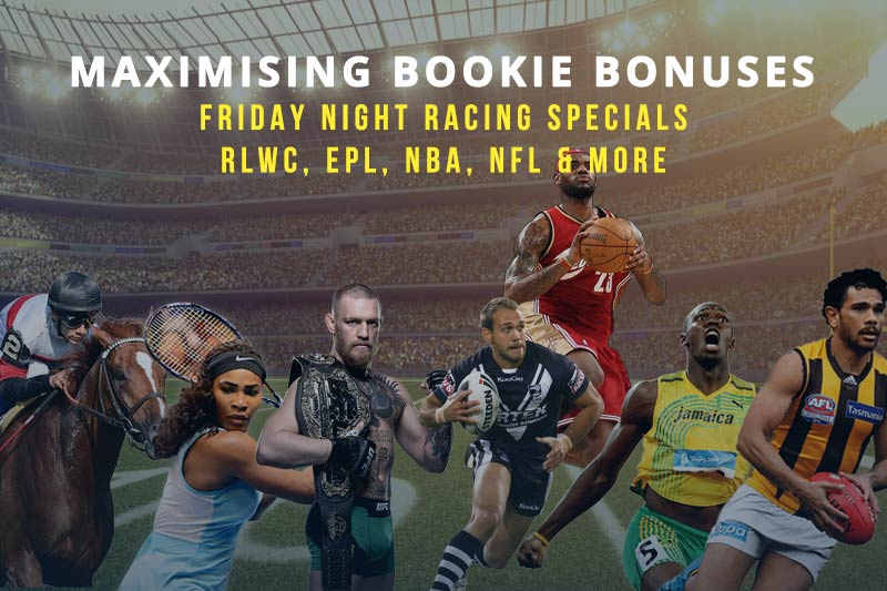 Maximising Bookie Bonuses