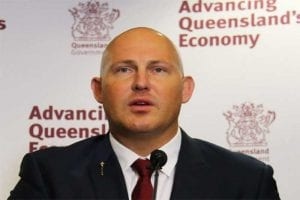 QLD Treasurer Curtis Pitts