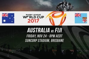 2017 Rugby League World Cup betting