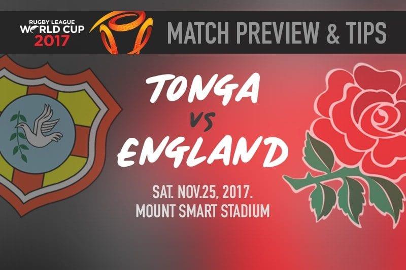 Tonga vs. England