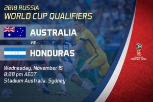 Socceroos World Cup betting