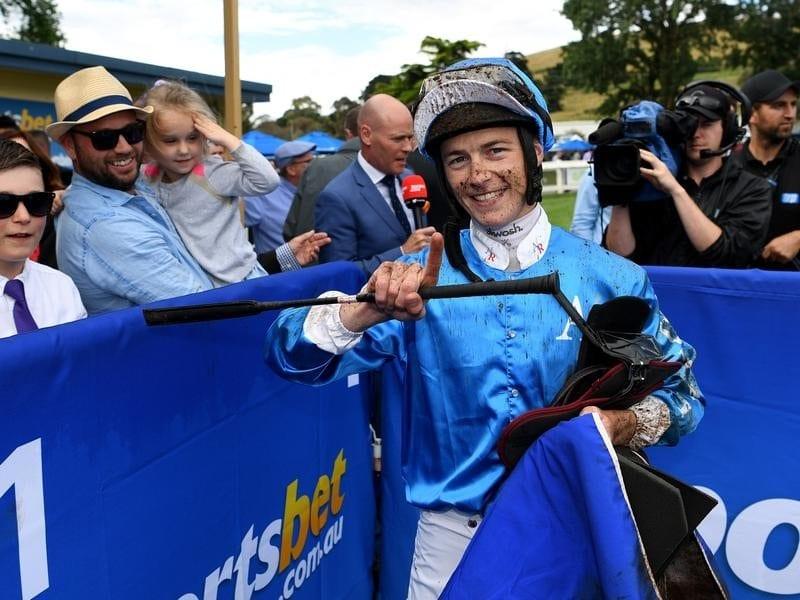 Melbourne jockey Patrick Maloney.