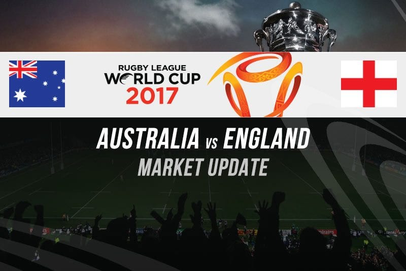 Rugby League World Cup odds
