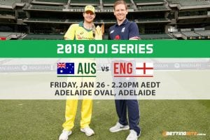 Aus v Eng 4th ODI