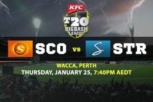 Scorchers v Strikers