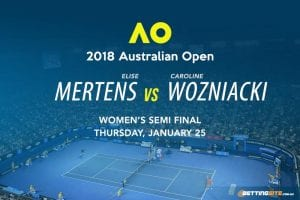 2018 Australian Open odds