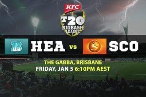 T20 Big Bash League odds