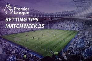 EPL Matchweek 25 odds