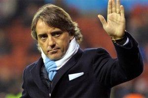 Italian coach Roberto Mancini