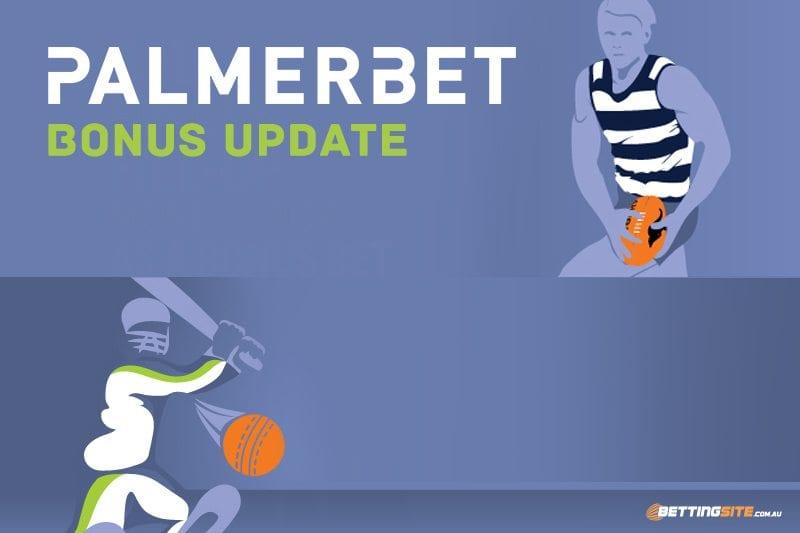 Latest bonus offers at Palmerbet.com