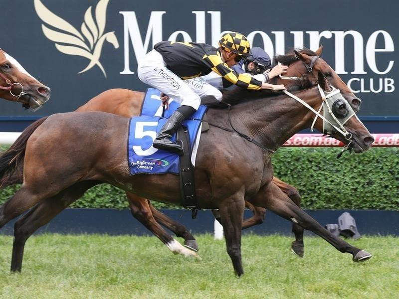 Khutulun wins at Caulfield.