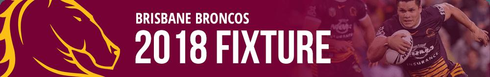 Brisbane Broncos fixture