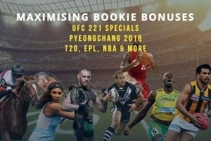 Latest betting specials and bonus offers