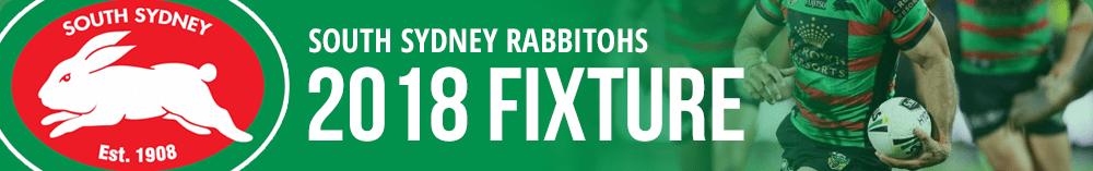 Rabbitohs 2018 Fixture