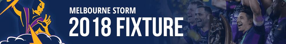 Melbourne Storm Fixture 2018