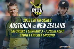 Aus NZ T20 cricket beting
