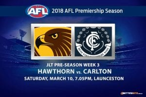 Hawks v Blues JLT