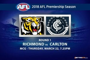 Tigers vs Blues Rd 1