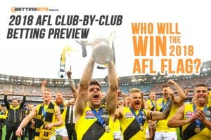 AFL betting 2018