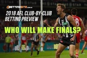 AFL club betting
