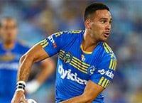 Corey Norman at Parramatta Eels