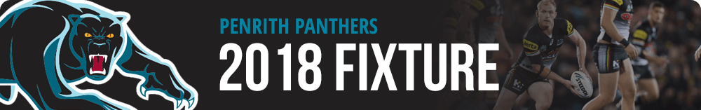 Penrith Panthers Fixture