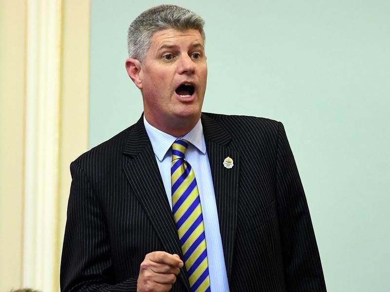 A file image of Queensland Minister for Racing Stirling Hinchliffe