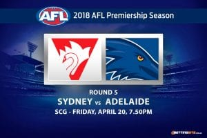 Swans v Crows rd 5