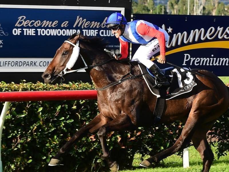 Jockey Bobby El-Issa rides Amanaat to win.