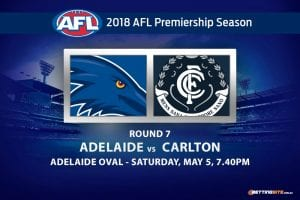 Crows v Blues Rd 7