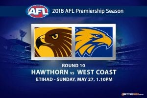 Hawks v Eagles