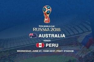 Australia v Peru