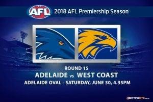 Crows v Eagles