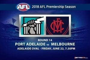 Port Adelaide vs Melbourne