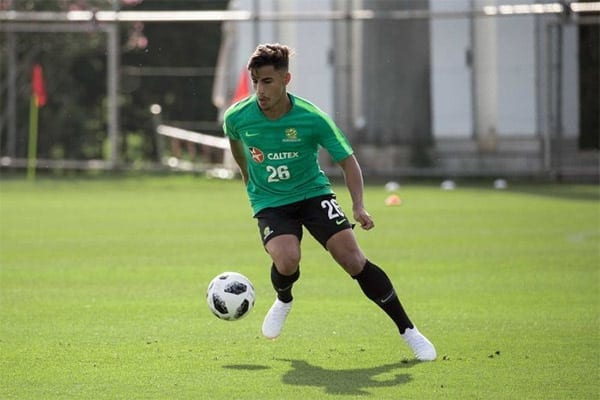 Daniel Arzani soccer betting