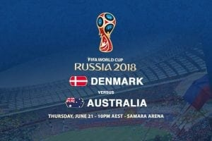 Socceroos World Cup odds at Russia 2018