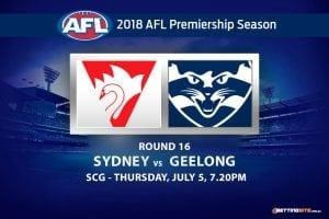 Sydney v Geelong