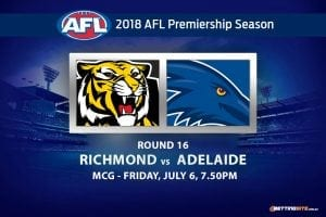 Tigers v Crows