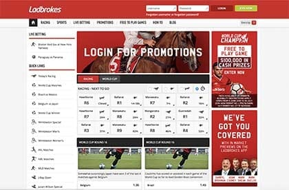 Ladbrokes Australia sports betting