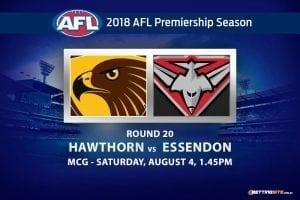 Hawks v Bombers