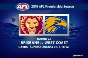 Lions v Eagles