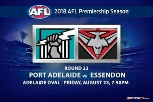 Port Adelaide vs. Essendon