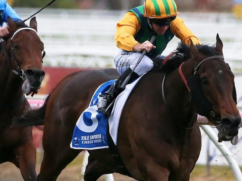 Ball Of Muscle wins at Caulfield.