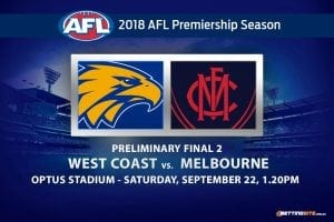 Eagles vs Demons prelim final