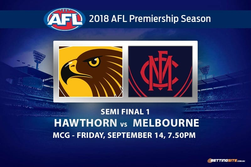 Hawks v Demons semi final