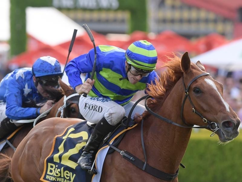 Big Blue wins at Randwick.