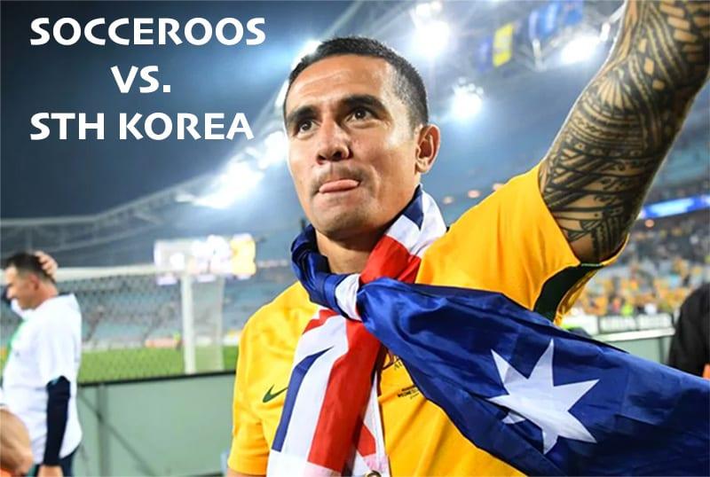 Socceroos vs South Korea